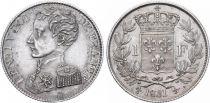France 1 Franc Henri V Prétendant - 1831