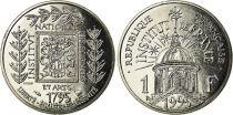 France 1 Franc Institut de France - 1995 - Essai
