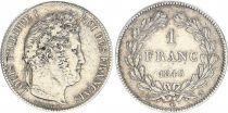 France 1 Franc Louis-Philippe 1er Tête Laurée - 1846 A