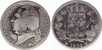 France 1 Franc Louis XVIII - 1820 Q Perpignan