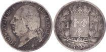 France 1 Franc Louis XVIII - 1823 A Paris