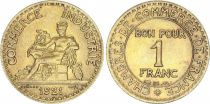 France 1 Franc Mercury seated - 1921