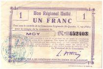 France 1 Franc Moy Régional - 1915