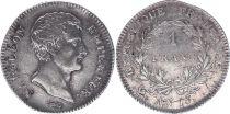 France 1 Franc Napoleon Emperator - AN 13(1803) A PARIS - Silver