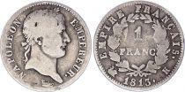 France 1 Franc Napoléon I - 1813 K Bordeaux