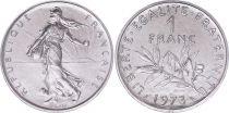 France 1 Franc Seed sower - 1973 - UNC