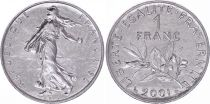 France 1 Franc Seed Sower - 2001 - UNC