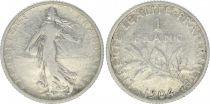 France 1 Franc Semeuse - 1904