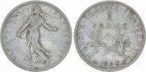 France 1 Franc Semeuse - 1905