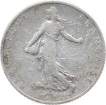 France 1 Franc Semeuse - 1910 - Argent