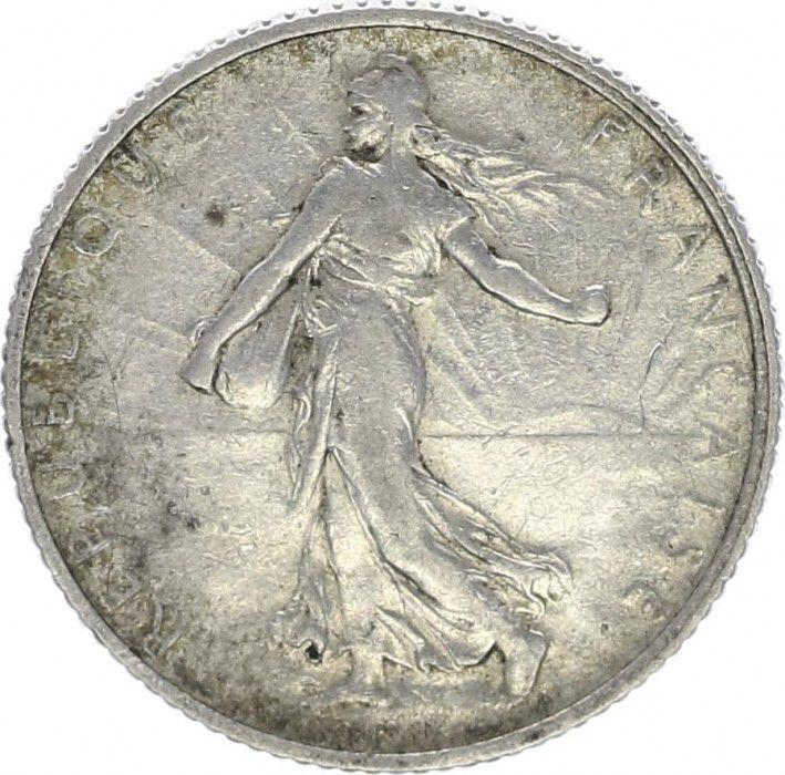 France 1 Franc Semeuse - 1911