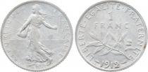 France 1 Franc Semeuse - 1912