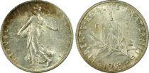 France 1 Franc Semeuse - 1913 - PCGS MS 62