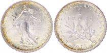 France 1 Franc Semeuse - 1915 - Silver