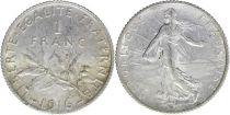 France 1 Franc Semeuse - 1916