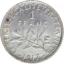 France 1 Franc Semeuse - 1917