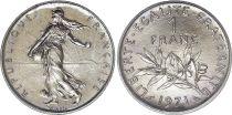 France 1 Franc Semeuse - 1971 - FDC - ISSU DE COFFRET