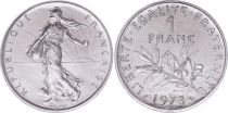 France 1 Franc Semeuse - 1973 - FDC - ISSU DE COFFRET