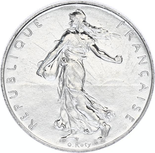 France 1 Franc Semeuse - 1989
