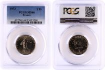 France 1 Francs Semeuse  - 1973 - PCGS MS 66