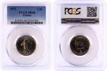 France 1 Francs Semeuse  - 1973 - PCGS MS 66