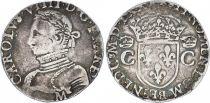 France 1 Teston, Charles IX - Armoiries 1570 M Toulouse