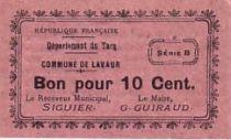 France 10 cent. Lavaur