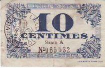 France 10 cent. Lille