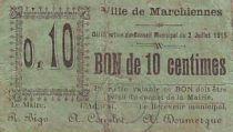 France 10 cent. Marchiennes