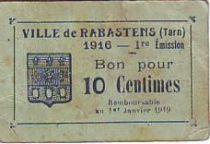 France 10 cent. Rabastens