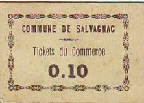 France 10 cent. Salvagnac