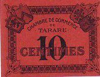 France 10 cent. Tarare