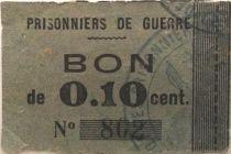 France 10 Centimes - Bon des Prisonniers de Guerre - TB