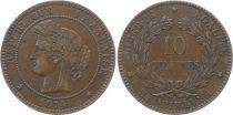 France 10 Centimes Cérès - Third Républic - 1874 A