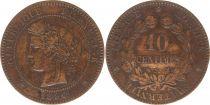 France 10 Centimes Cérès - Troisième République - 1896 A Paris