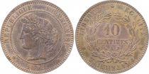 France 10 Centimes Cérès - Troisième République - 1898 A