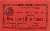 France 10 Centimes Cordes