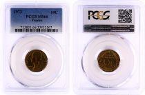 France 10 Centimes Lagriffoul - 1973 - PCGS MS 66