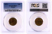France 10 Centimes Lagriffoul - 1973 - PCGS MS 67