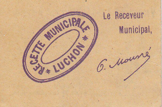 France 10 centimes Luchon City