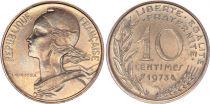 France 10 Centimes Marianne - 1973 - FDC issu de coffret