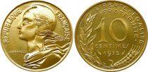 France 10 Centimes Marianne - 1975 issu de coffret BU
