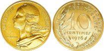 France 10 Centimes Marianne - 1976 issu de coffret BU