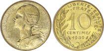 France 10 Centimes Marianne - 1980 issu de coffret BU