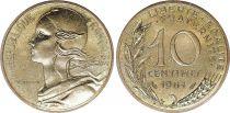 France 10 Centimes Marianne - 1981 issu de coffret BU