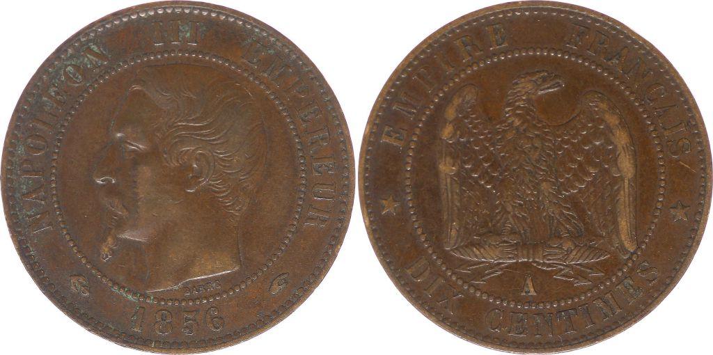 piece de monnaie napoleon 1856