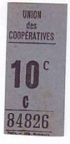 France 10 Centimes Paris Union des coopératives