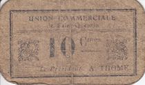 France 10 Centimes Saint-Quentin