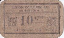 France 10 Centimes Saint-Quentin Union commerciale