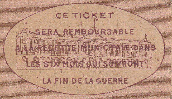 France 10 centimes Toulouse City